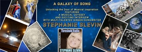 THE MYSTERIOUS WORLD OF SINGER/SONGWRITER, STEPHANIE SLEVIN